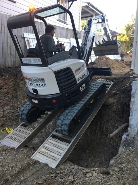 Loading Ramps excavator