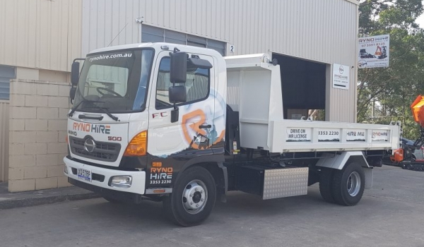 10.4 Tonne GVM / 5.5 Tonne Payload Tippers