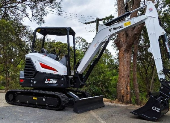 Introducing our 3.8 tonne excavator