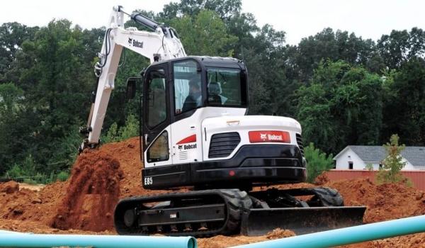 8 Tonne Excavators