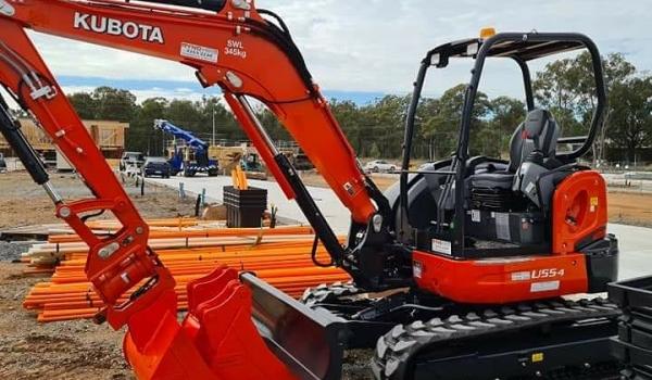 5-5.5 Tonne Excavators
