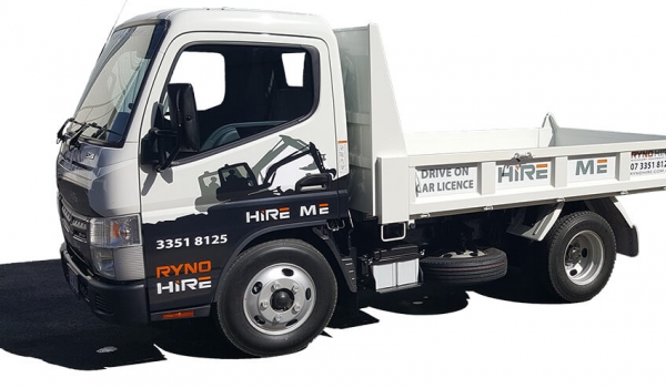 4.5 Tonne GVM / 1.8 Tonne Payload Tippers