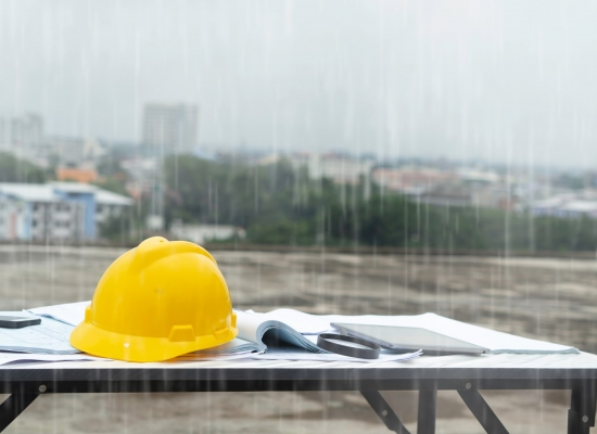 Diy construction and wet weather risks